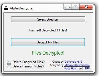 alpha-decryptor.